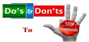 Prevent Hemorrhoids